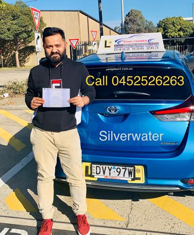 driving test silverwater